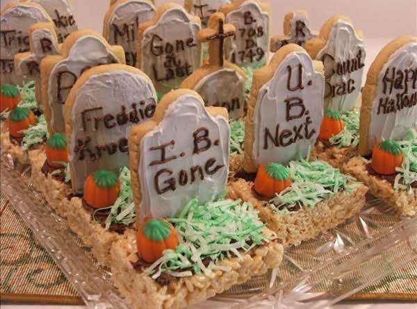 Halloween Tombstone Treats Recipe