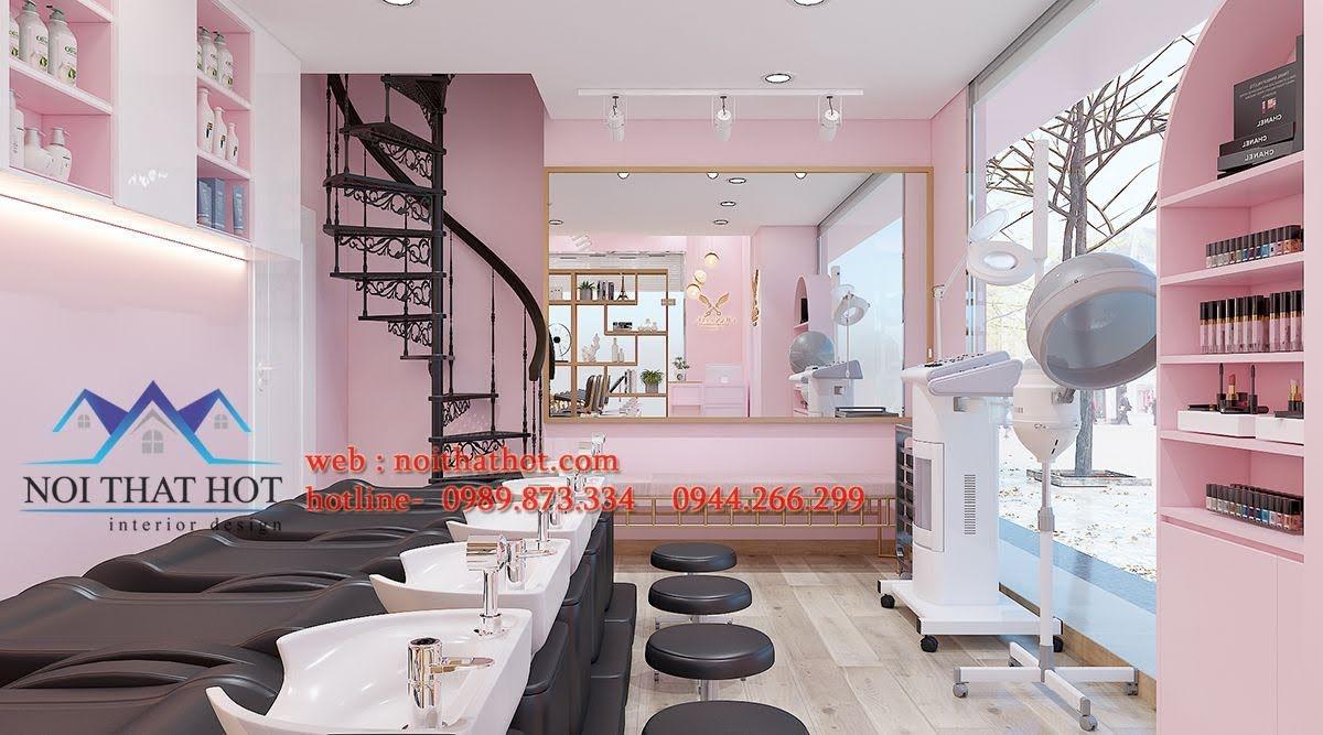 nội thất salon tóc