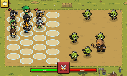 Raid Heroes: Total War apkpoly screenshots 1