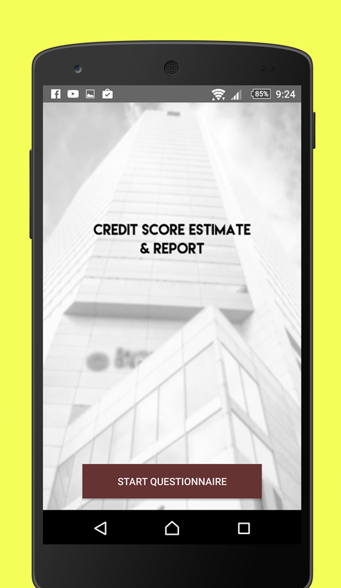 Credit Report- screenshot