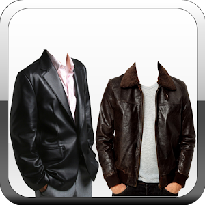 download Men Leather Jacket Photo Suit apk