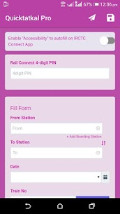 Quictatkal Pro: IRCTC Tatkal Ticket Booking Apk Download For Android 2
