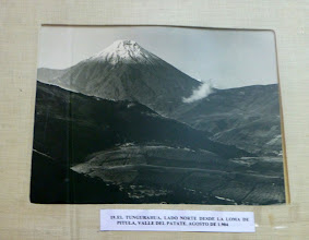 Photo: Historic photo of Tungurahua volcano 1904  before the top blew off