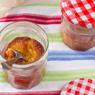 French Orange Cake in Jar