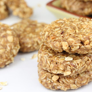 No Bake Almond Butter Cookies.