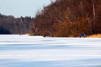 Photo: Eisvergnügen auf dem Großensee