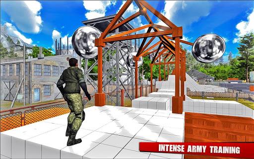Army Training camp Game screenshot 22
