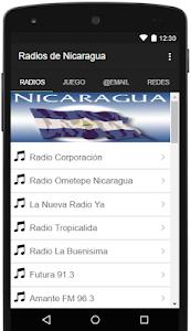 Radios de Nicaragua Gratis screenshot 0