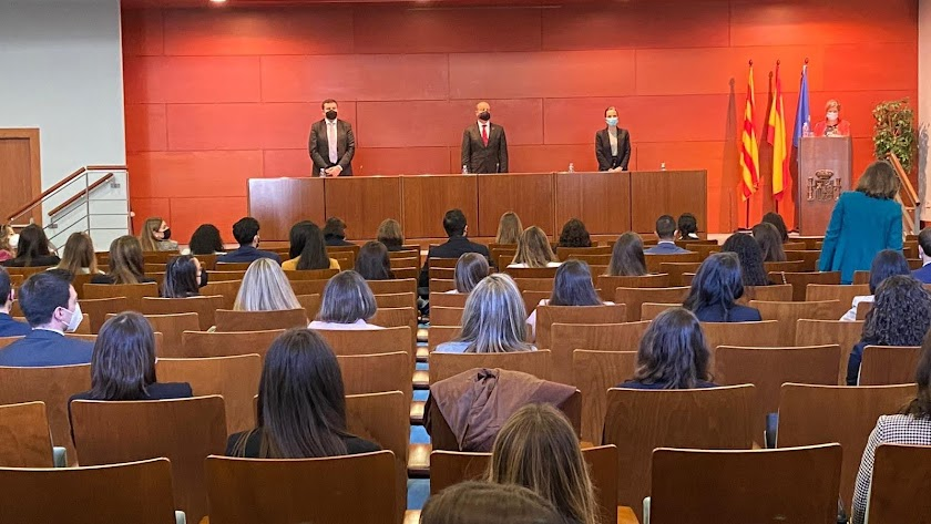 Jura de la nueva promoción de jueces, este jueves