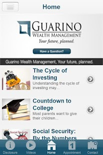 Guarino Wealth Management- screenshot thumbnail
