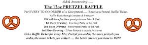 12oz Pretzel Curbside Raffle
