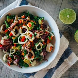 Summer Squid Salad.