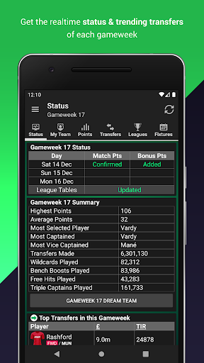 Fantasy Football Manager for Premier League (FPL) 8.4.1 screenshots 4