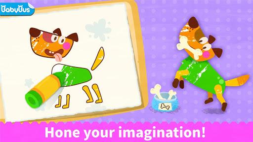 Baby Panda's Coloring Book apkpoly screenshots 7