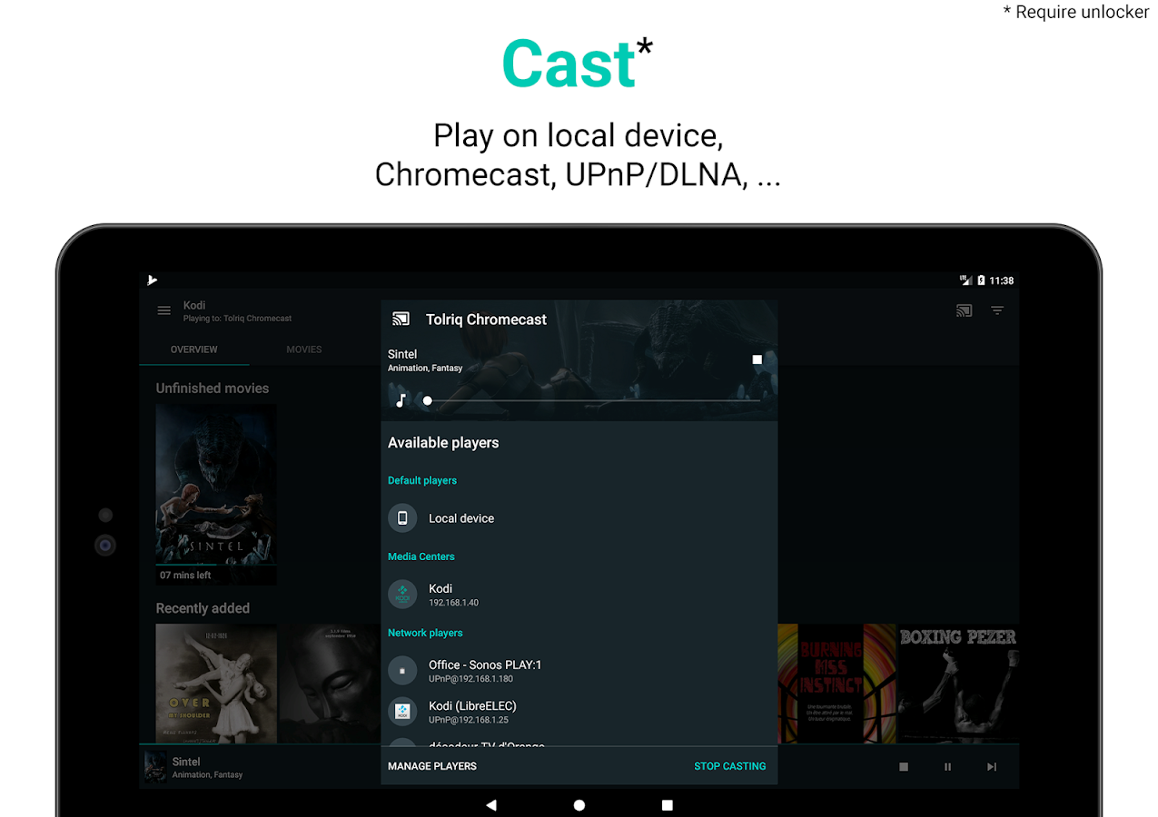 Yatse: Kodi remote control and cast- screenshot