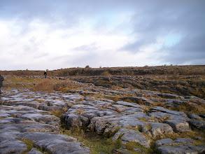Photo: The Burren (all the limestone rocks)