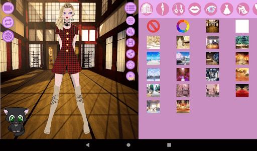 Avatar Maker: Anime Lady screenshot 17