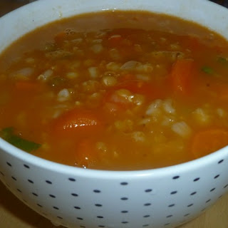 Vegetable Soup With Lentils And Barley Recipes