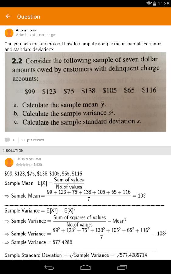 Chegg: Textbooks & Study Help - screenshot