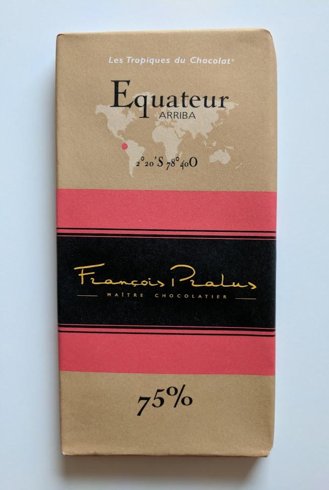 75% pralus ecuador bar