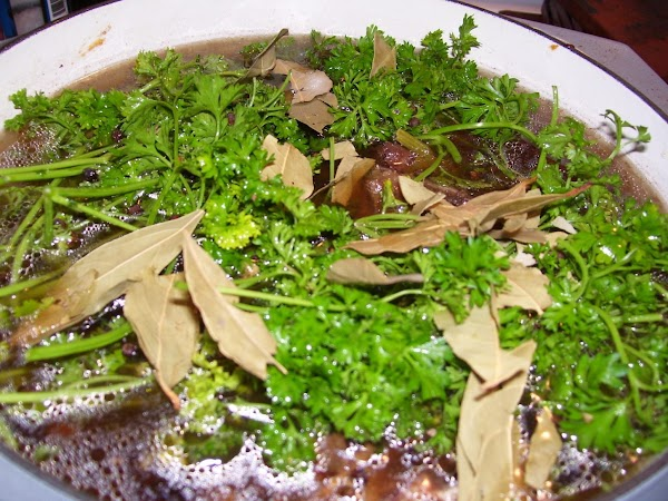 Optionally, add herbs and spices at this point to add more flavor.  In...