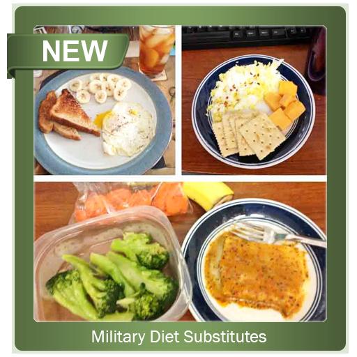 Military Diet Substitutes (app)