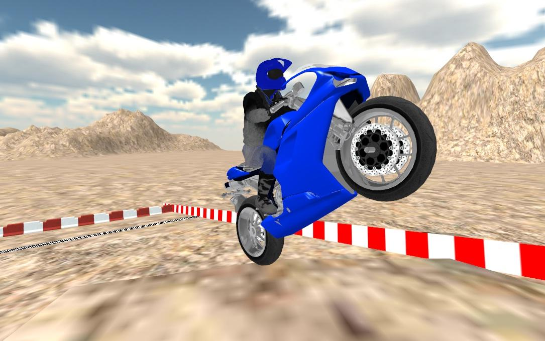 Motorbike Mountain Racing 3D- screenshot
