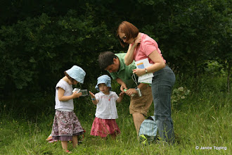 Photo: Even the youngest participants enjoyed looking closely at the tiny creatures they found