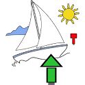 Nautical navigator icon