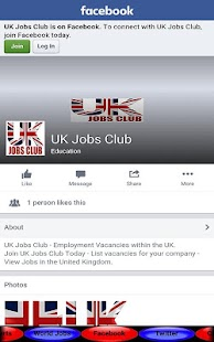 UK Jobs Club- screenshot thumbnail