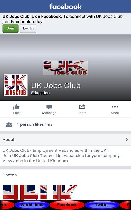 UK Jobs Club- screenshot