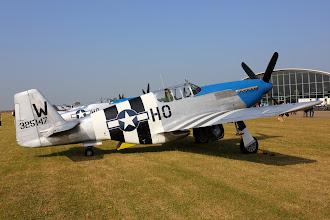 Photo: North American P-51C Mustang, druhý Blue-Noser. Do party jim schází Miss Helen.