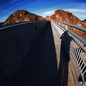 Pat Tillman Memorial Connecting bridges by Jeff T - Travel Locations Landmarks