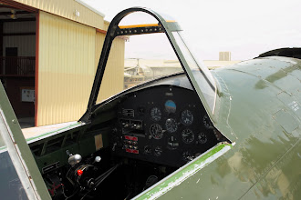 Photo: P-47G - kokpit