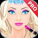 Princess makeup salon 2019. Premium icon