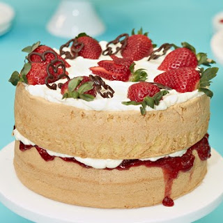 Strawberry Sponge Cake Dessert Recipes