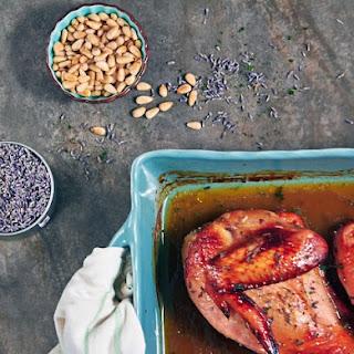 Lavender Honey Chicken.