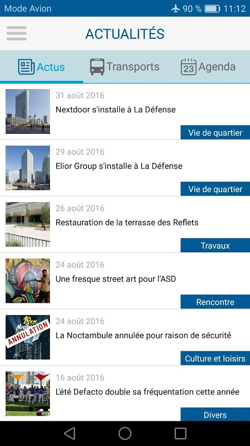 Paris La Défense City Map – Capture d'écran