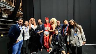 Jurado, presentadores y colaboradores del Concurso Talento de Almería.