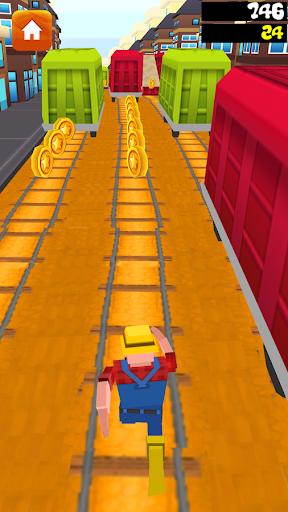 Ninja Subway Surf Run
