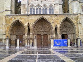 Photo: Etapa 18 a. Façana catedral. Segle XIII / XIV. León