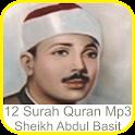 Abdul Basit 12 Surah Quran Mp3 icon