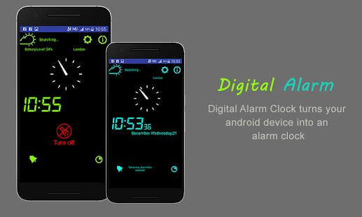Alarm Clock & weather - náhled