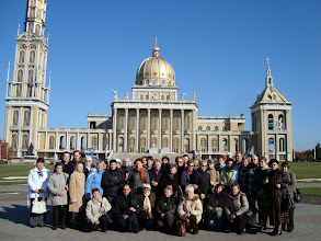 Photo: Przed Sanktuarium Matki Bożej Bolesnej Królowej Polski w Licheniu
