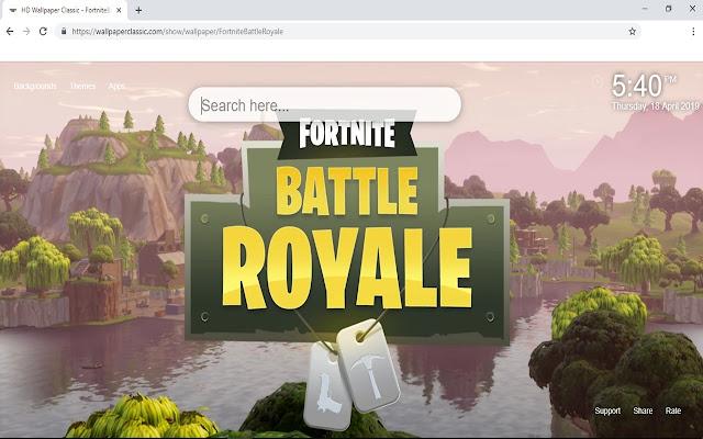 Fortnite Battle Royale Wallpaper Hd