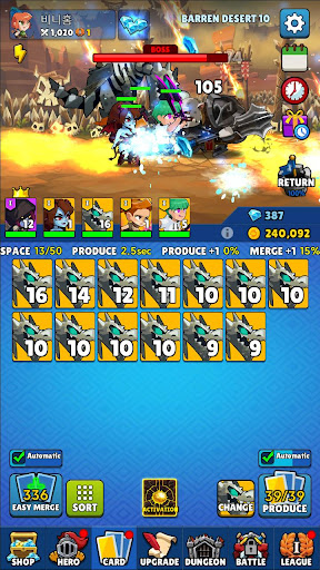 Merge and Go - Idle Game  screenshots 5