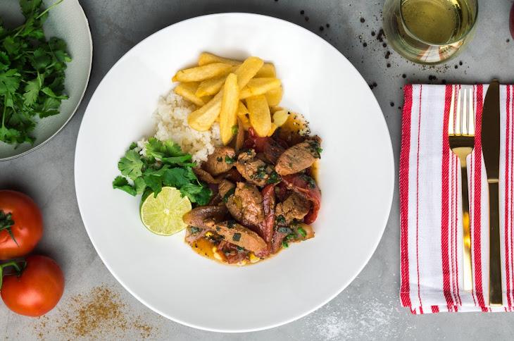 Peruvian-Style Pork Stir Fry Recipe