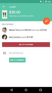 Splitwise- screenshot thumbnail