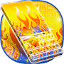 Digital Fire Keyboard APK icon