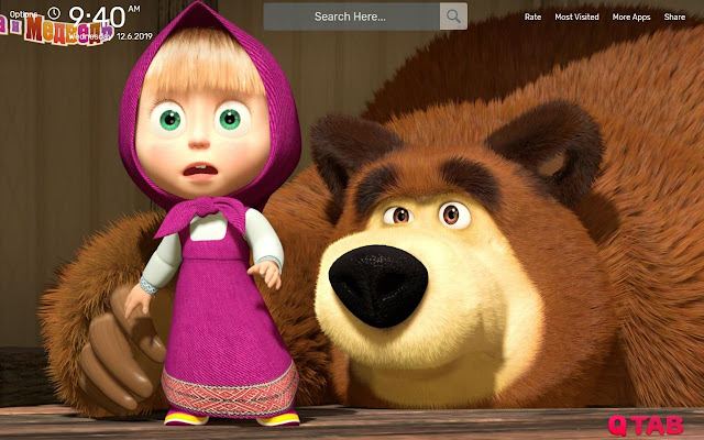 Masha And The Bear 3 Wallpapers Hd Theme